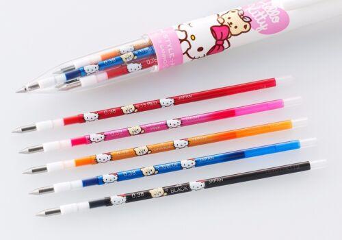 Sanrio x Uni Uni-Ball Hello Kitty UMR-129 Style Fit 0.38mm Rollerball Pen Refill