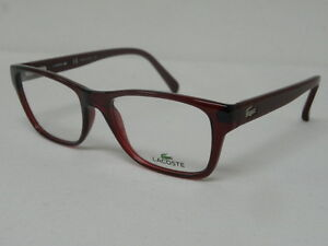 4ddb621094 Image is loading Lacoste-L2763-615-Red-52mm-Eyeglasses-Rx-2763