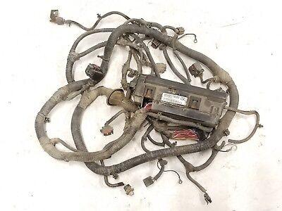 jeep wrangler tj underhood firewall fusebox relay wiring harness 2005 4.0l  05i | ebay  ebay