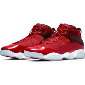 0154951c63c 322992-610 Men's Jordan 6 Rings Gym Red/Black/White Sizes 8-13 New ...