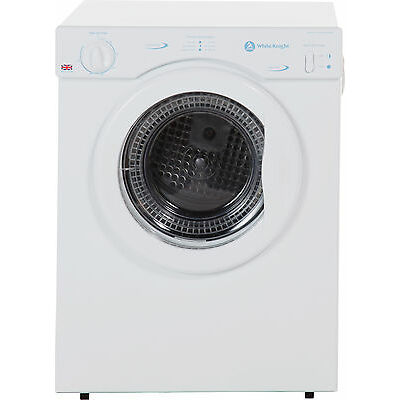 White Knight C372WV Free Standing 3kg Compact Vented Tumble Dryer White :Argos