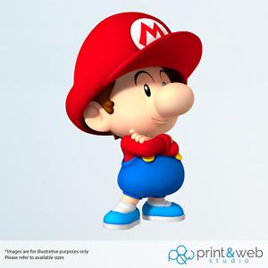 Super Mario Baby Mario Decal Autocollant Chambre Vinyle Enfants