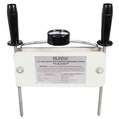 Durite Battery Tester Heavy Duty 275 amp 6//12 volt Bx1-0-524-08