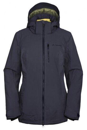 Vaude Miosa gris medio impermeable a prueba de viento chaqueta Primaloft Hood Parka BNWT