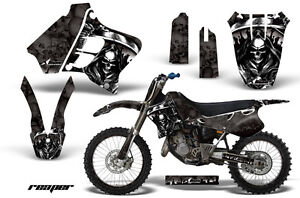 Graphic-Kit-Decal-Sticker-Wrap-Plates-For-Yamaha-YZ125-YZ250-93-95-REAPER-K