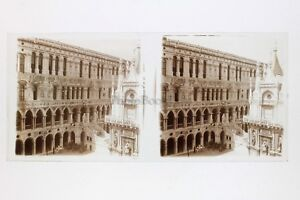 Venezia-Italia-Foto-Amateur-Placca-Da-Lente-N8-Stereo-Ca-1920