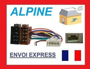 Image Is Loading CABLE ISO ALPINE For CDA 9831R