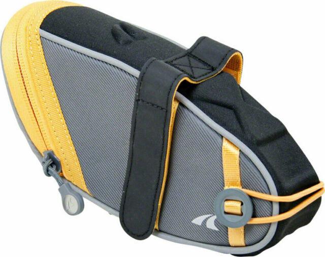 ROCKBROS Cycling Bicycle Waterpoof Seat Buckle Saddle Bag Black Hard Shell Bag