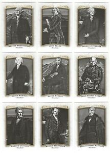 2017-UD-Goodwin-Champions-United-States-Presidents-Complete-18-card-set-lot-Mint
