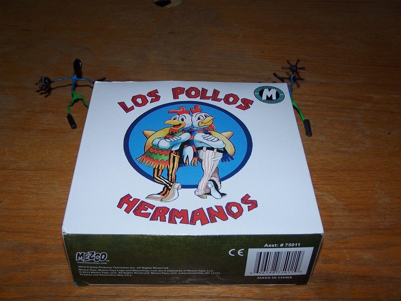 BREAKING BAD Walter Weiß Los Pollos Hermanos 2013 Con Exclusive Mezco Figure