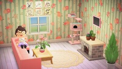 Animal Crossing New Horizons Pink Living Room Furniture ... on Living Room Animal Crossing New Horizons  id=91420