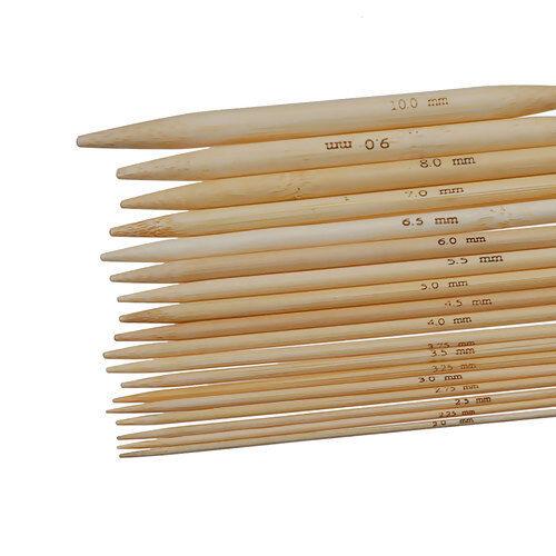 Stricknadel Bambus Tube Runstricknadel 81 cm 2,5 mm inkl Porto