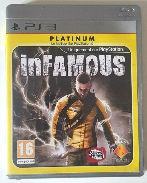 InFamous - Sony PlayStation 3 PS3 - Complet