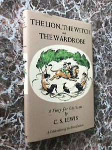 The-Lion-the-Witch-amp-the-Wardrobe-by-C-S-Lewis-Facsimile-of-1950-First-Edition