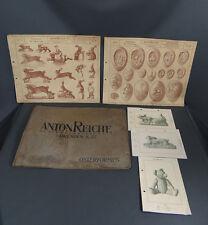 1900-10 ORIGINAL ANTON REICHE EASTER FORM CHOCOLATE MOLDS CATALOG EGGS & RABBITS