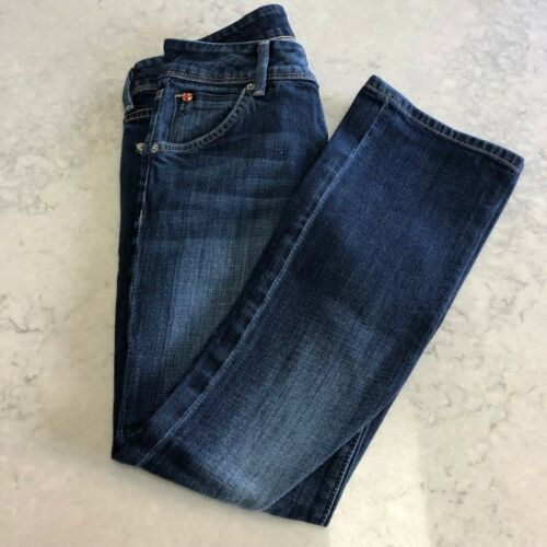 stretch Signature foncé Bootcut à extensible Hudson 25 Elt Jeans Pochette coton délavage en q851fwP