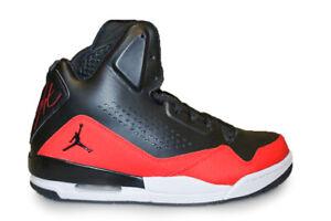 Details zu Herren Nike Jordan SC 3 629877009 Schwarz Rot Weiß Turnschuhe