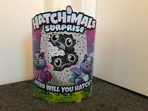 Bnib Hatchimals Surprise Jumeaux Pois Chats Big Kitty Spinmaster Edition Limitée