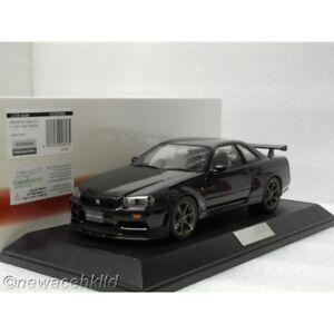 Nissan Skyline GTR V. Spec 1999 (BNR34) Black Pearl Hobby Japan 1/18 #HJ1809BK