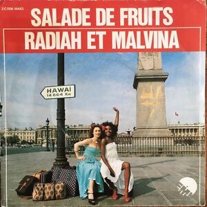 Salade-de-Fruits-Radiah-et-Malvina-Vinyl-7-034-45T-Single