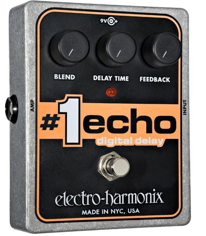 Electro-Harmonix  1 Echo Digital Delay Pedal