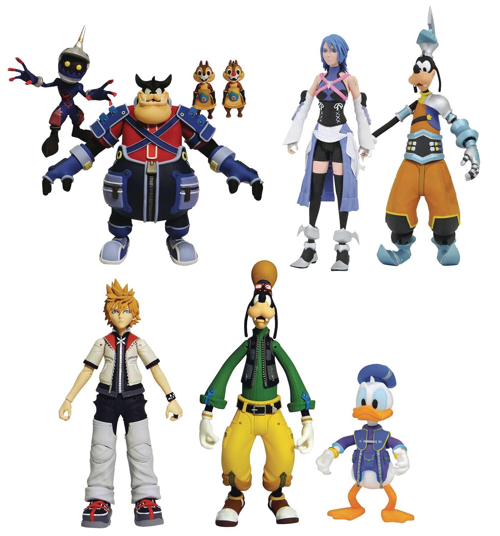 Kingdom Hearts Select Series 2 Set of 3 Diamond Select Toys