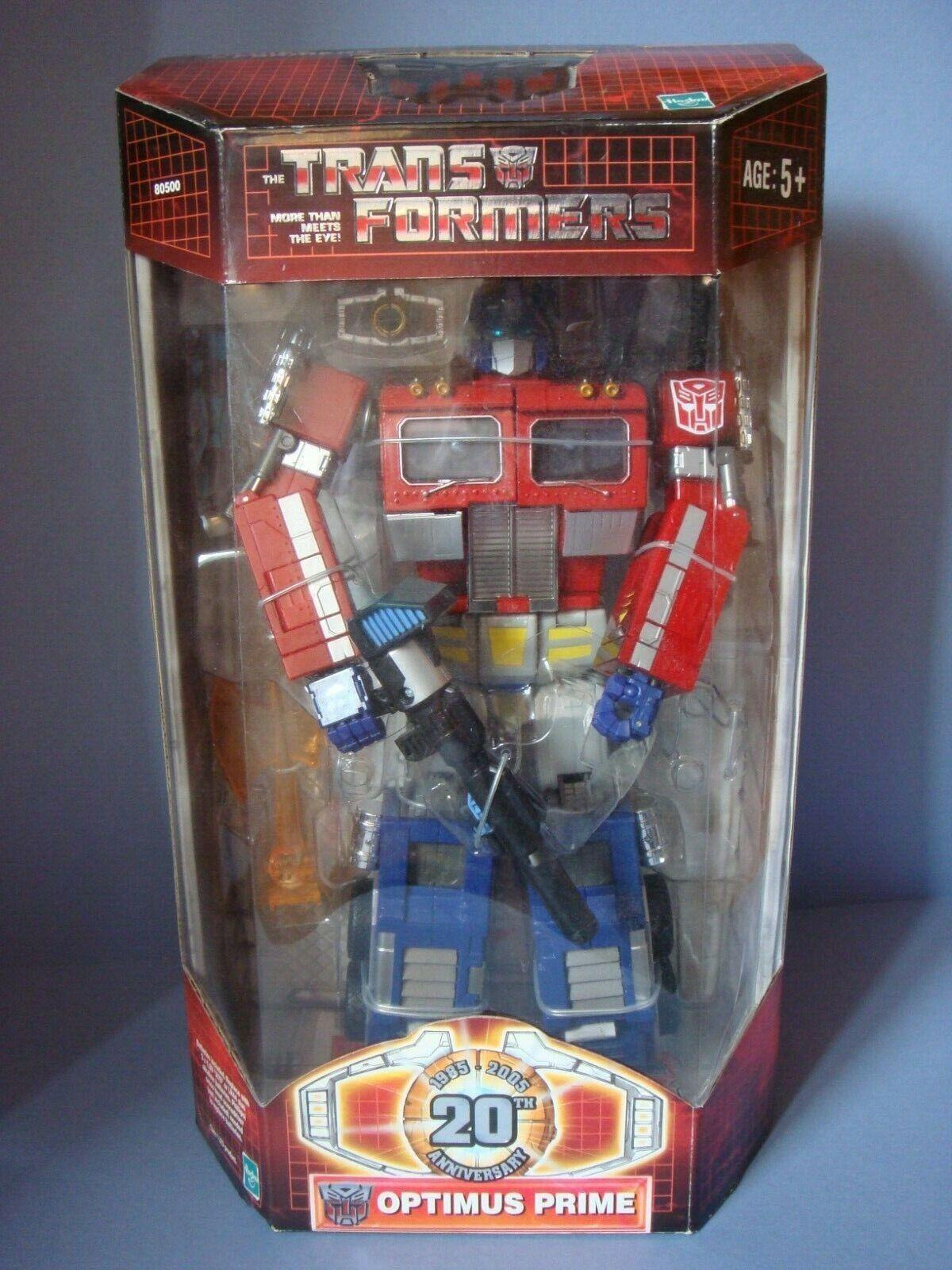 Hasbro Takara Transformers 20th Anniversary Optimus Prime G1 neuf boîte