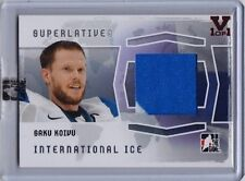 2014-15 ITG Superlative Vault Saku Koivu International Ice Jersey (1/1)