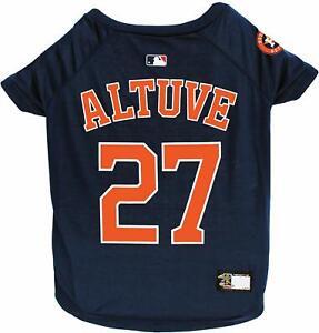 JOSE-ALTUVE-27-Houston-Astros-MLBPA-Officially-Licensed-Dog-Pet-Tee-Shirt