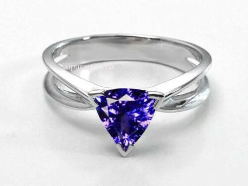 Details about  /Tanzanite Gemstone Jewelry 925 Sterling Silver Rose Color Ring