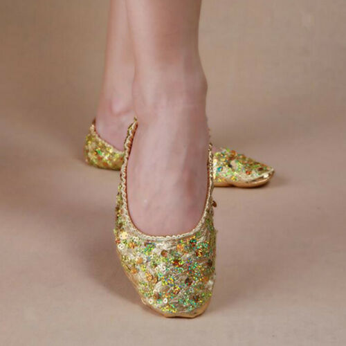 Soft Soles Belly Dance Shoes Slippers Flat-Heel-Ballerina-Ballet Shoes