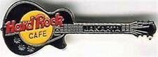 Hard Rock Cafe JAKARTA 1990s Black LES PAUL GUITAR PIN - HRC Catalog #3726