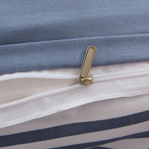 Pillow Case Bedding Set Twin Queen King Geometric Striped Duvet Quilt Cover