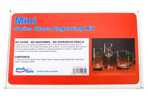 Swiss Glass Etching Mini Kit 170
