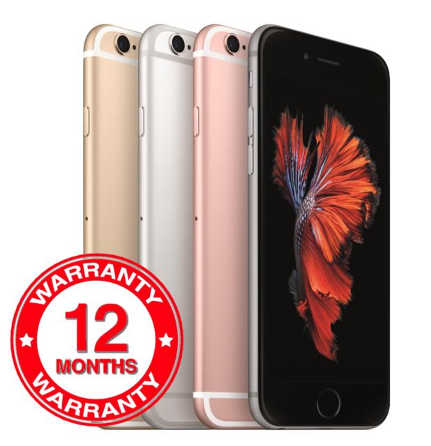 Apple iPhone 6s 16GB 32GB 64GB 128GB Unlocked SIM Free Smartphone Various Grades