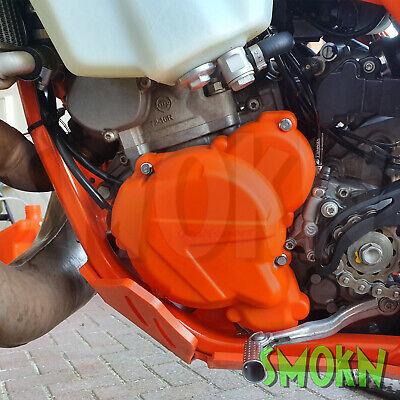 Kupplungsdeckelschutz Verkleidung clutch cover Ktm Exc 250 300 TPI 2017 orange