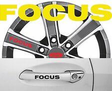 4 x Türgriff- Felgen Aufkleber Ford Focus 001 #1410