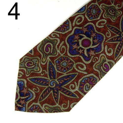 Mens Italian 100/% Silk Ties Various Designs