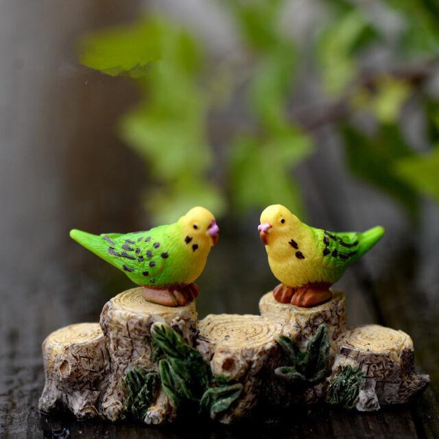 Mini 8pcs Goat Miniature Garden Lawn Ornament Decoration Figurine DIY Bonsai