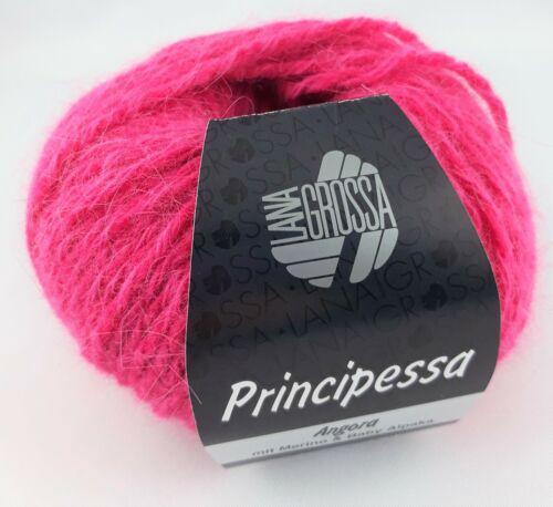 Principessa Lana Grossa 100g=31,80€ 14/% Alpaka Garn,weich,Winter 40/% Angora