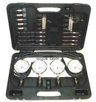 Wsm 4 Cyl. Carburetor Synchronizer Kit With Plastic Case 999-250