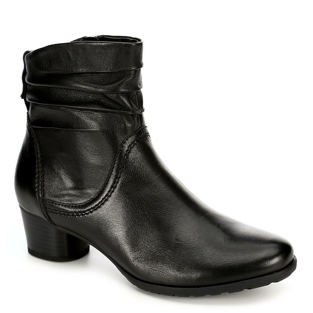 Medicus Womens Theodora Side Zip Slouch Ankle Boot Shoes