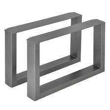 Tischgestell Tischkuven Bankgestell Industrielook Couchtisch Tischbeine 2X