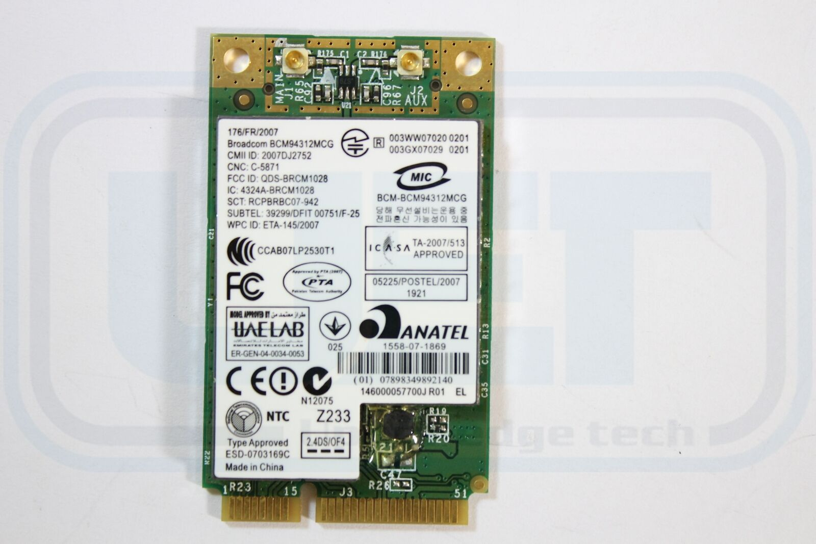Dell Inspiron Mini 910 910 N204H 802.11g Tested Warranty