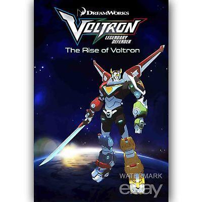 Custom Silk Poster Wall Decor Voltron Legendary Defender The Rise of Voltron