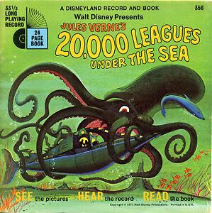 Disney-Verne-20-000-leagues-under-the-Sea-See-Hear-Read-con-DISCO-1971-vedi