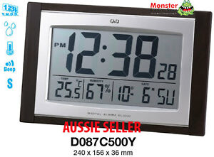 AUSSIE-SELLER-CITIZEN-MADE-ALARM-amp-WALL-CLOCK-SNOOZE-TEMPERATURE-D087C500