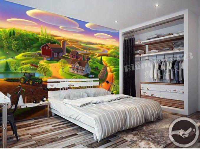 3D Beautiful Village 35 Paper Wall Print Decal Wall Wall Murals AJ WALLPAPER GB
