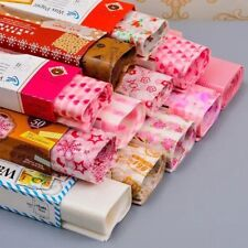 Merry Christmas Greaseproof Cake Wrapping Waterproof Wax Paper Food Packing