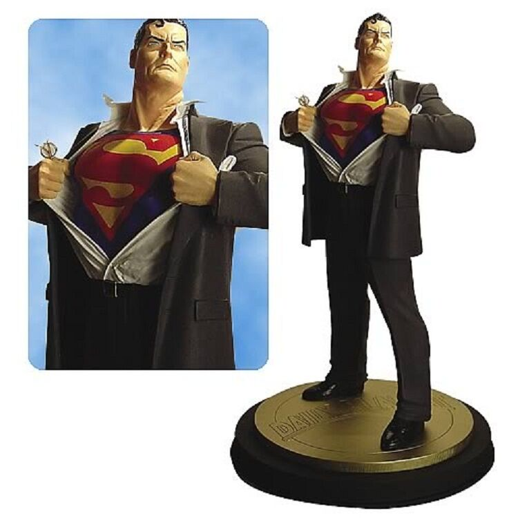 New Superman Forever statue DC Comics By ALEX ROSS  figure comic